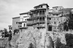 Le Camere d'attaccatura, Cuenca, Spagna fotografia stock