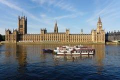 Le Camere del Parlamento a Londra Fotografie Stock