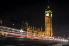 Le Camere della torre di Elizabeth e del Parlamento che alloggia Big Ben Immagine Stock
