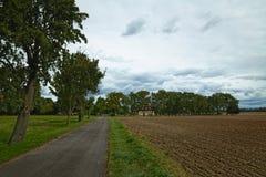 Le Camere hanno elencato come monumenti in Kirchdorf, Meclemburgo-Pomerania, Germania Fotografia Stock