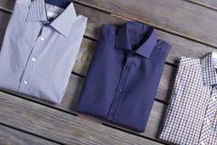 Le camice degli uomini classici di affari Fotografie Stock Libere da Diritti