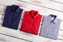 Le camice degli uomini classici di affari Immagini Stock Libere da Diritti
