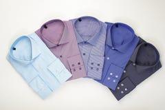 Le camice degli uomini classici stabiliti Fotografia Stock