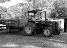 Le camion de ferme Photographie stock libre de droits