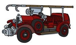 Le camion de fite de vintage illustration stock