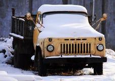 Le camion a gelé Photos libres de droits