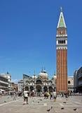 Le campanile image stock