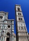 Le campanile de Giotto Photo libre de droits