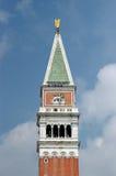 Le campanile de repère de saint Images libres de droits