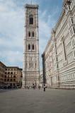 Le campanile Florence de Giotto Image stock