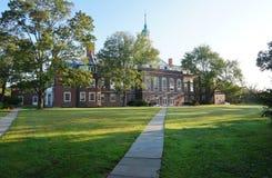 Le campus de l'institut pour des études supérieures dans Princeton, NJ Photographie stock libre de droits