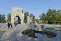 Le campus de l'université de Tianjin Photo libre de droits