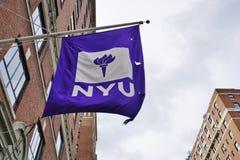 Le campus de l'université NYU de New York à Manhattan photo stock