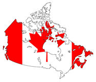 le Canada Photos libres de droits
