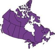 Le Canada Image libre de droits