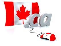 Le Canada en ligne photo libre de droits