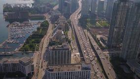 Le Canada Toronto en juillet 2017 aérien Sunny Day 4K inspirent 2