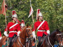 Le Canadien force le régiment du cheval de Lord Strathcona Photos stock