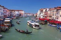 Le canal grand à Venise images stock