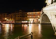 Le canal grand à Venise Photographie stock