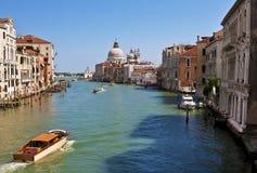 Le canal grand de Venise Image libre de droits