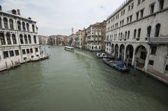 Le canal grand de Venise Photo stock