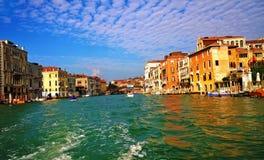 Le canal grand, Venise, Italie Photographie stock