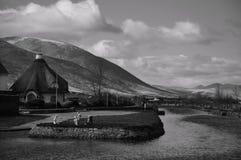 Le canal, Tralee Photo libre de droits
