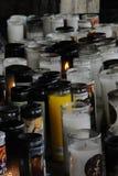 le candlet 0ne brille parmi tellement beaucoup images libres de droits