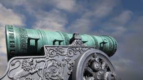 Le canon de tsar, Moscou Kremlin, Russie clips vidéos