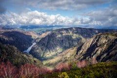 Le canyon de la rivière de Sil Photo libre de droits
