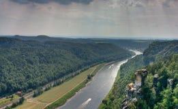 l'Elbe Photos libres de droits