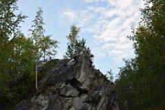 Le canyon de marbre Image libre de droits