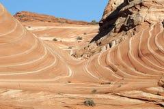 Le canyon de Paria, falaises vermillonnes, Arizona Photographie stock