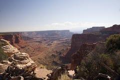 Le canyon de Shafer donnent sur J Photo libre de droits