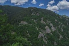 Le canyon des cascades Images libres de droits