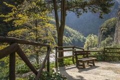 Le canyon du Furlo image stock