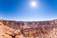Le canyon Emery County, Utah, Etats-Unis du diable Photo libre de droits