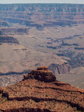Le canyon grand Photo libre de droits
