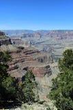 Le canyon grand pendant l'après-midi image libre de droits