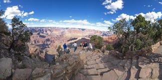 Le canyon grand Vues du canyon, du paysage et de nature photographie stock