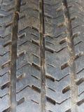 Le caoutchouc, protecteur, pneu, automobile, dessin, modèle, saleté, la poussière, travailleur, texture, abstraction, solide Photos stock