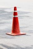 Le caoutchouc rouge de cône Image stock
