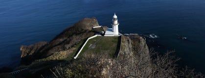 Le cap de la terre au Hokkaido Photo libre de droits