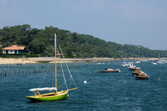 Le Cap Ferret in Gironde Royalty Free Stock Image