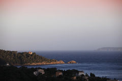 Le Cap Nègre, Le Lavandou, Var, France Royalty Free Stock Photos