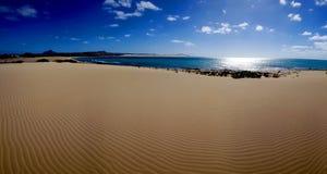Le Cap Vert - plage vide Photos libres de droits