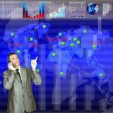 Le capital financier Image stock