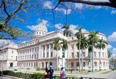 Le capitol à La Havane Images stock