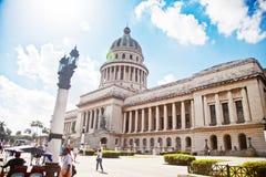 Le capitol à La Havane Image libre de droits
